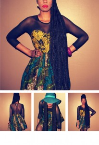 Ankara design from Nigeria