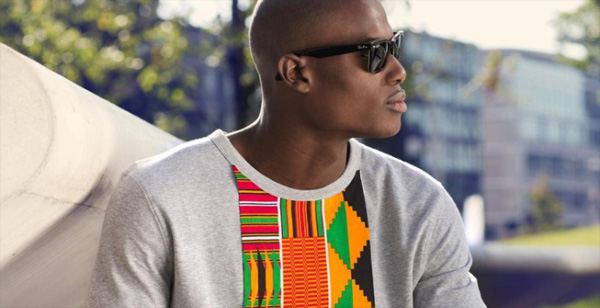 Kente inspired sweatshirt
