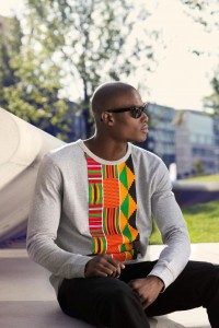 Design inspired by Kente fabric from Ghana
