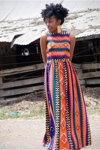 Kitenge design from Kenya