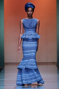 Shweshwe design from South Africa